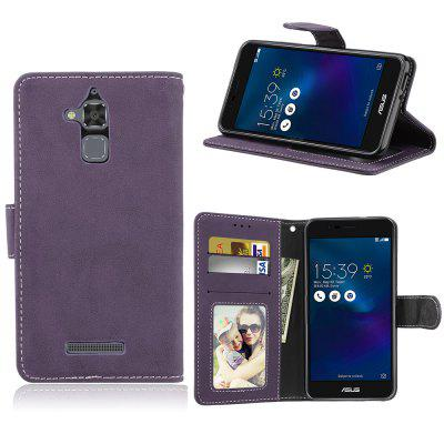 Card Slots Wallet Case Flip Cover PU Leather for Asus Zenfone 3 Max ZC520TL 5.2inch luxury bling leather case for asus zenfone max m2 zb633kl wallet case for asus zenfone max pro m2 zb631kl flip leather case