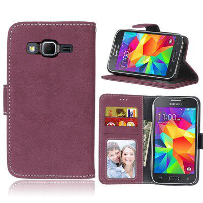 Card Slots Wallet Case Flip Cover PU Leather for Samsung Galaxy Prime Core G360 G361