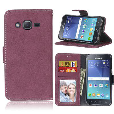 Фото - Card Slots Wallet Case Flip Cover PU Leather for Samsung Galaxy J2 J200F brand new a case for samsung 930x5j lcd