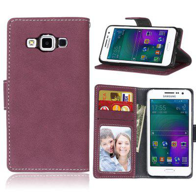 Фото - Card Slots Wallet Case Flip Cover PU Leather for Samsung Galaxy A3 A300 brand new a case for samsung 930x5j lcd
