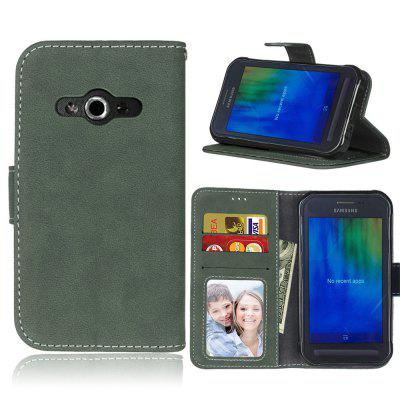 Фото - Card Slots Wallet Case Flip Cover PU Leather for Samsung Galaxy Xcover 3 G388F brand new a case for samsung 930x5j lcd