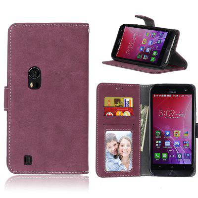 Card Slots Wallet Case Flip Cover PU Leather for Asus ZenFone Zoom ZX550ML ZX551ML 5.5inch
