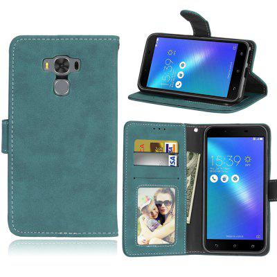 Card Slots Wallet Case Flip Cover PU Leather for Asus Zenfone 3 Max ZC553KL 5.5inch