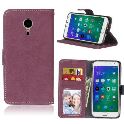 Card Slots Wallet Case Flip Cover PU Leather for Meizu MX5 M575M M575U 5.5 inch
