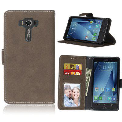 Card Slots Wallet Case Flip Cover PU Leather for Asus ZenFone 3 Deluxe ZS550KL 5.5inch