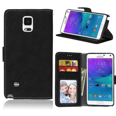 Фото - Card Slots Wallet Case Flip Cover PU Leather for Samsung Galaxy Note 4 Note4 N9100 brand new a case for samsung 930x5j lcd