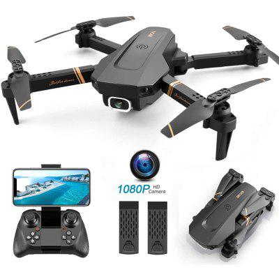 4DRC Foldable Drone with 1080p HD Camera for Adults and Kids Quadcopter Wide Angle FPV Live Video
