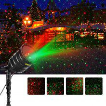 Suaoki Outdoor Laser Light Red Green Star Projector