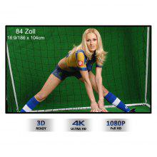 Portable 72 inch projector screen 16:9