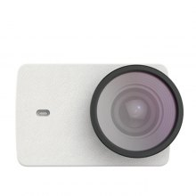 PU Leather Case with UV Lens for Action Camera