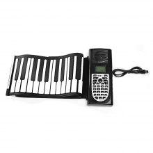 Folding Electronic Organ Hand Roll Piano for Kids