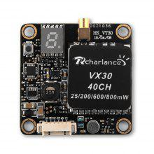 Rcharlance VX30 40CH 800mW Video Transmitter for RC Drone