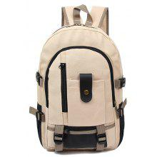 GearBest: Solo $8.99/€7.6 para Men Trendy Outdoor Large Capacity Canvas Backpack