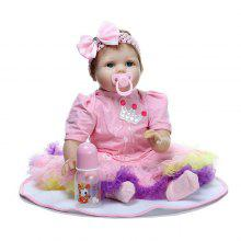 Simulation Soft Silicone Reborn Baby Doll Toy