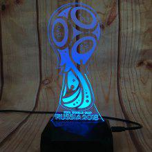 RD - A80505 - 003 Creative 16-colors USB Powered Night Lamp