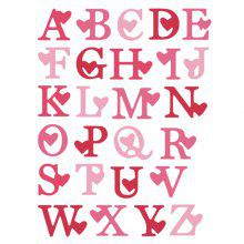 DIY Alphabet Metal Embossing Cutting Dies Template Stencil
