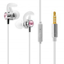 J1 Universal 1.2m Stereo In-ear wired Earphone with Mic