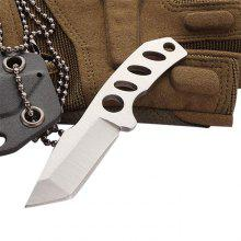 Outdoor Mini Portable Straight Fixed Blade Knife