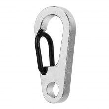 FURA GEAR D2 Durable TC4 Titanium Alloy Key Ring