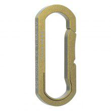 FURA GEAR Portable Durable TC4 Titanium Alloy Key Ring