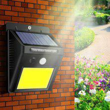 CX1701 - 48COB Solar Power COB Waterproof LED Outdoor Induction Wall Lamp