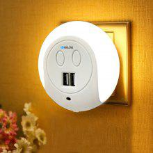 BRELONG XC - 016 Light-sensor Night Light / Charger