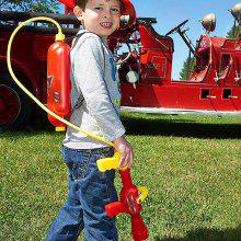 Fireman Backpack Water Gun Nozzle Summer Fun Toy