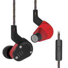 KZ ZSA HiFi Hybrid In-ear Earphones with Microphone
