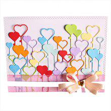 Heart Shape Metal Cutting Die Set for Card Scrapbooking