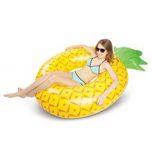 Inflatable Pineapple Swimming Ring Pool Raft