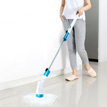 HESSION Cordless Spin Mop Scrubber