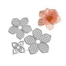 DIY Metal Flower Embossing Plate Carbon Steel Cutting Die