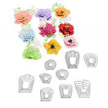 DIY Flowers Patterns Embossing Cutting Dies Set