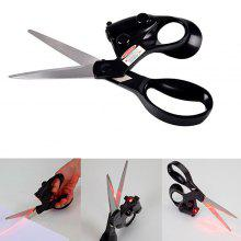 Laser Scissor with Guided Light
