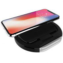 Angle Adjustable Qi Wireless Charger 10W for Cell Phone for iPhone, Samsung
