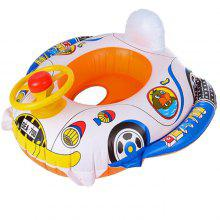 Inflatable Colorful Cartoon Children Swimming Ring Seat