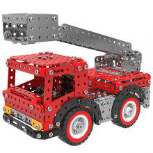 MoFun SW - 016 Alloy Building Blocks Ladder Truck Toy 580pcs / Pack