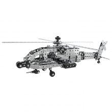 Stainless Steel Helicopter Building Blocks 620pcs