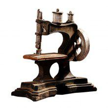 Creative Retro Sewing Machine Table Decoration Art Craft