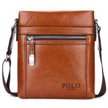 VICUNAPOLO Men Fashion PU Shoulder Bag