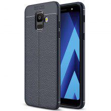 Case for Samsung Galaxy A6 Shockproof Back Cover Solid Color Soft TPU