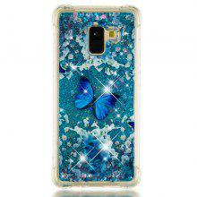 Butterfly Pattern Case for Samsung Galaxy A8 Plus 2018