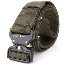 ENNIU Male Outdoor Tactical Training Belt with Cobra Buckle only $7.21
