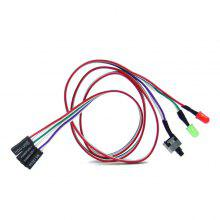 Switch Cable with LED Light 60cm