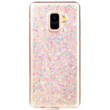 for Samsung A8PLUS 2018 Luxury Flash Soft TPU Phone Case