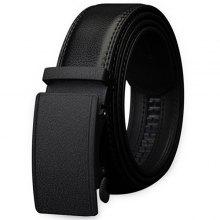 COWATHER Business Leather Trouser Belt with Automatic Buckle