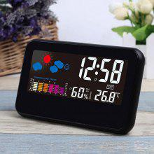 LCD Digital Weather Station Clock