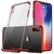 CAFELE Anti-shock Electroplate Phone Protective Case for iPhone X