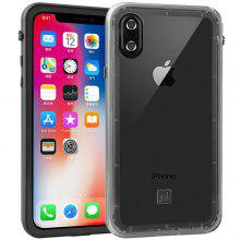 TPU + PC Snow Protection Phone Case for iPhone X