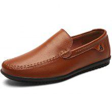 Men Trendy Soft Slip-on Handcrafted Leisure Loafer Shoes dfd58daa288a